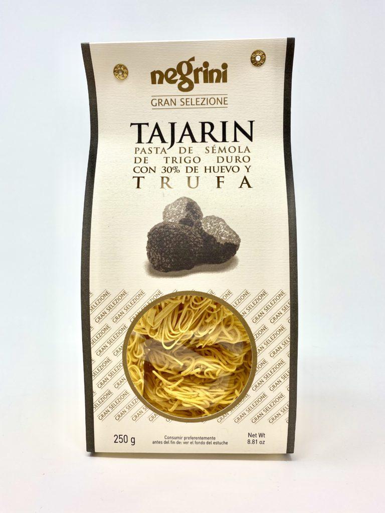 TAJARIN AL HUEVO CON TRUFA