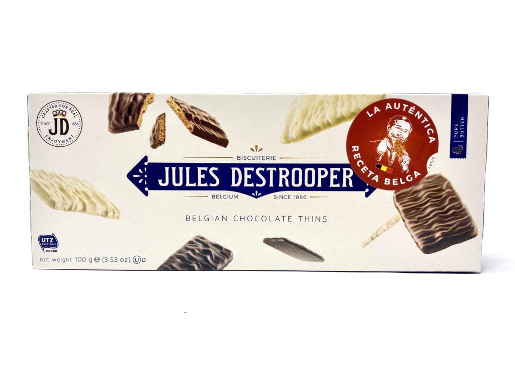 JULES DETROOPER GALLETAS CON TRES CHOCOLATES BELGAS 100gr